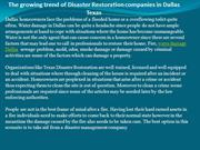 The growing trend of Disaster Restoration companies in Dallas Texas
