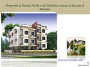 Properties in Greater Noida: Suitable Place for Investing a property