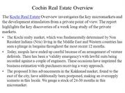 Cochin Real Estate Overview