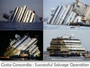 Costa Concordia : Successful Salvage Operation