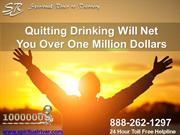 Quitting Drinking Will Net You Over One Million Dollars
