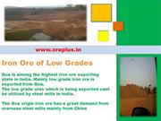 Waste Dumps / Low Grade Iron Ore