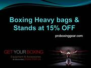 Boxing Heavy bags & Stands at 15% OFF