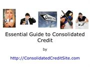 Lower Your Monthly Installment by Using Consolidated Credit