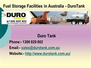 Fuel Storage Facilities in Australia
