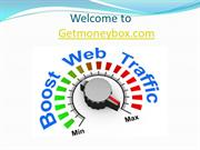 Buy Website Traffic | Buy Web Traffic | getmoneybox.com