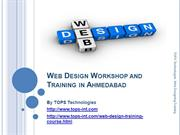 19-09-2013 Web Design Workshop and Training in Ahmedabad