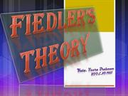 fiedlers contingency therom