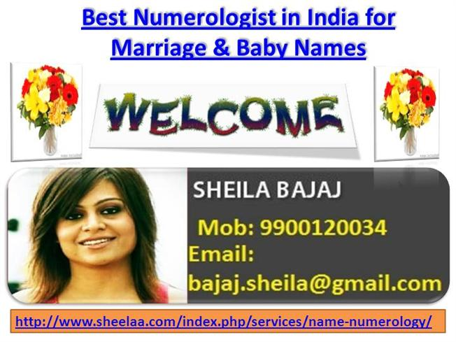 Best Numerologist in India, Numerology for Marriage And Baby