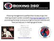 Boxing Management