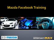Mazda Facebook Training Deck