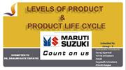 Levels of Product and Product Life Cycle PPT.