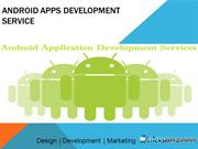 Android apps development service