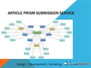 Article Prism Submission Service