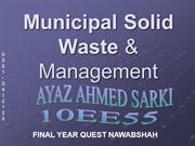 muncipal solid waste management