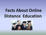Facts About Online Education