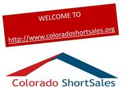 Colorado Springs short sale experts avoid foreclosure