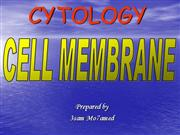 Cell Membrane (Power-point-show)
