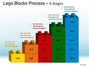 LEGO BLOCKS FORMING BUSINESS BAR GRAPH SUCCESS