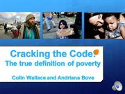 Poverty Project #1- Andriana and Colin