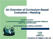 AnOverviewofCurriculumBasedEvaluation-Re