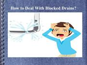 How to Deal With Blocked Drains
