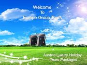 Cheap Austria Luxury Holiday Packages