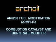 ARCHOIL AR6200 Fuel Treatment Presentation