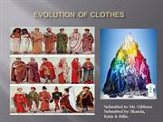 Evolution of clothes