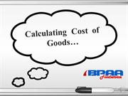 Calculating Cost of Goods