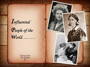 Influential Women of History