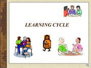 Language Learning Cycle