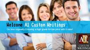 A1 Custom Writings - Academic Writing Service