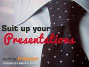 Suit up your presentations with authorSTREAM PowerPoint Templates