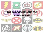 TOP 10 LOGO DESIGNS FOR SUPER HEROES