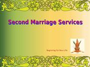 Second Marriage Service | Divorcee Matrimonial | Second Shaadi