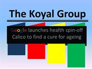 The Koyal Group: Google launches health spin-off Calico