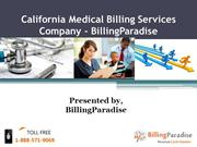 California Medical Billing Services Company-BillingParadise