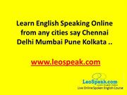 online spoken english training