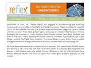 Corporate Profile of Reflex Glass