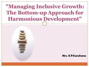 Managing Inclusive Growth