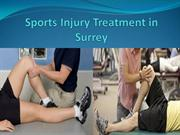 sports injury treatment in Surrey