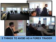Checklist: Five Mistakes in Forex Trading that Must Be Avoided
