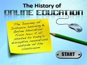 Years in which online education was started