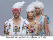 Paris Fashion Show - Collection Manish Arora - Indian Designer