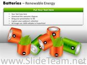 RECHARGEABLE BATTERIES POWERPOINT DIAGRAMS