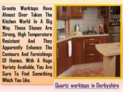 Quartz worktops in Derbyshire