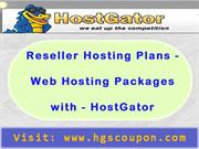 Reseller Hosting Plans - Web Hosting Packages with - HostGator