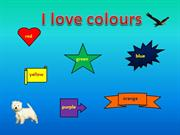 I love colours