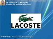 Marketing Lacoste
